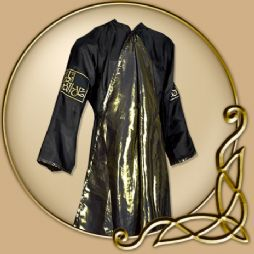Costume - Oriental Coat  in Black and Gold